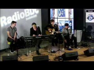 "RadioBDC Live in the Lab: Kodaline performs ""High Hopes"""