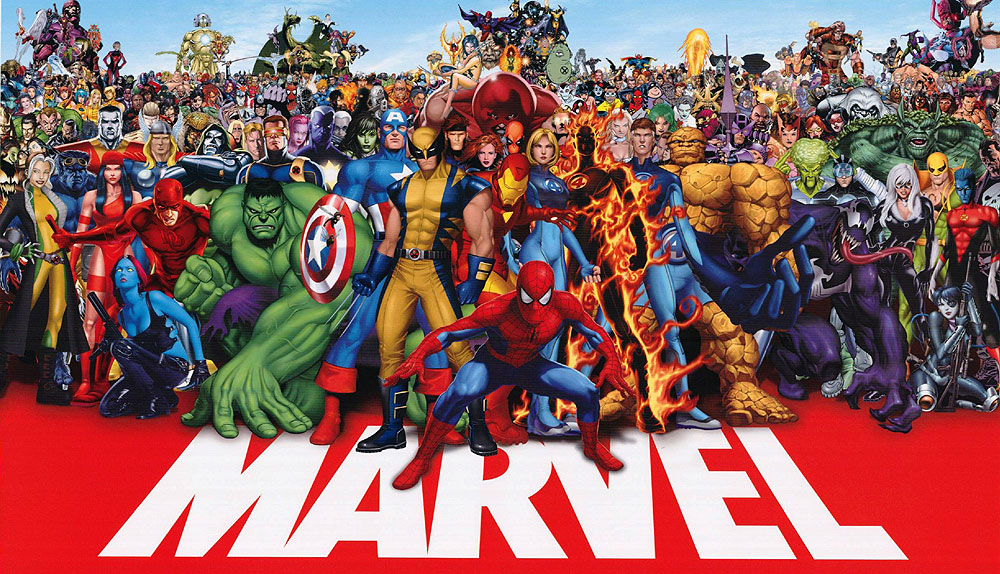 new comic book movies marvel