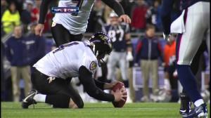 Ravens' Cundiff - Missed Field Goal (HD)