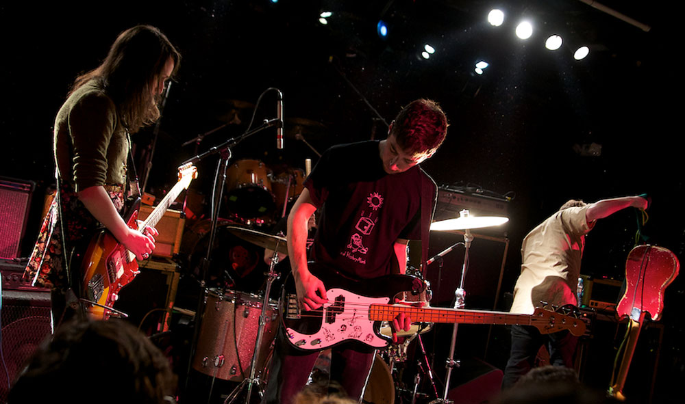 Speedy Ortiz at The Paradise on Dec.18, opening for The Breeders.
