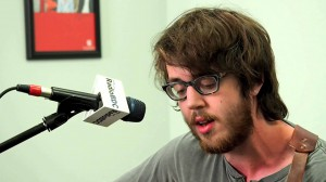 "Live on RadioBDC: Dylan Baldi of Cloud Nothings performs ""Now Here In"""