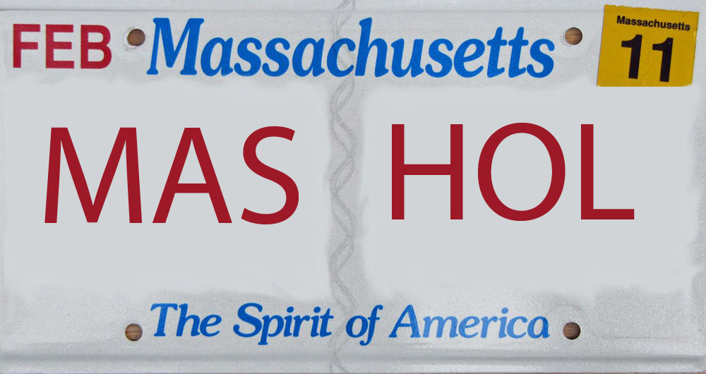 Massachusetts Rejected Vanity Plates Show Its Classy Side