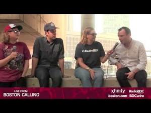 Boston Calling: Future Islands Interview