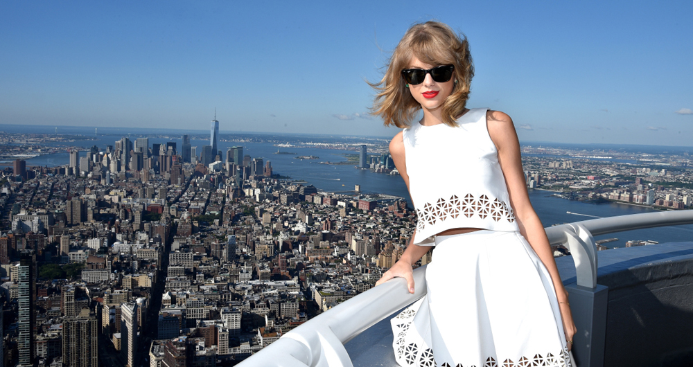 Yahoo Taping With Taylor Swift