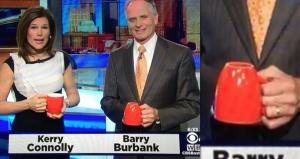 barry burbank coffee cup
