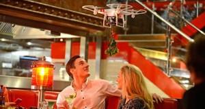 TGI Fridays Mistletoe Drone