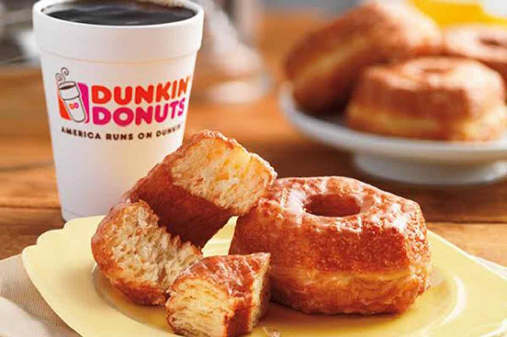 Dunkin' Donuts Croissant Donut
