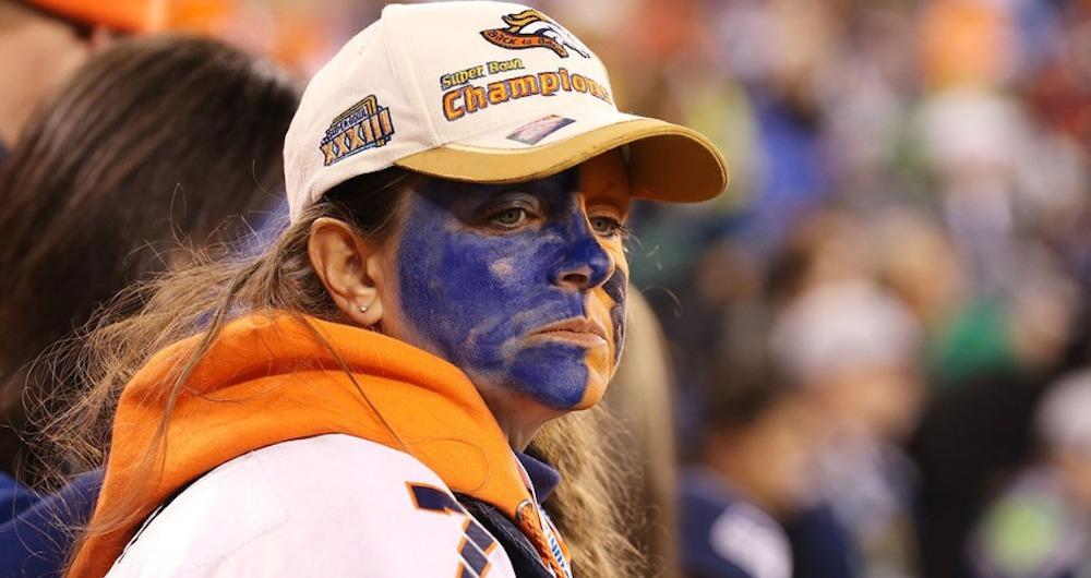 Sad Broncos Fan