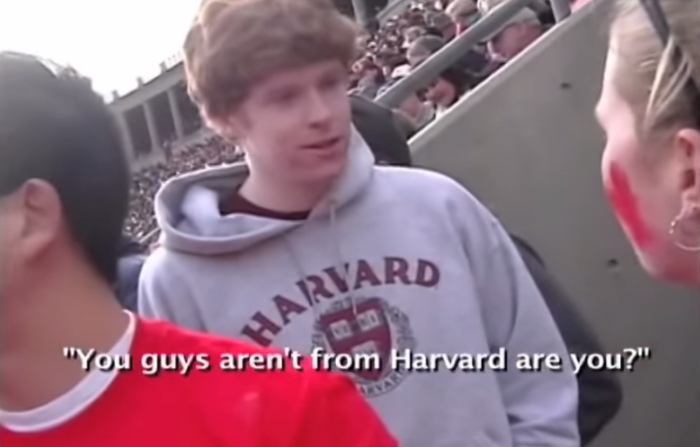 you're not from Harvard