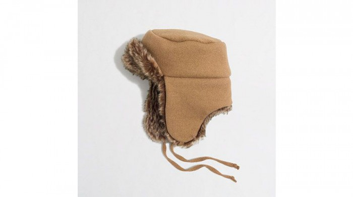 J.Crew Faux Fur-Lined Hat