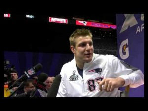 Rob Gronkowski Singing Katy Perry Gronk