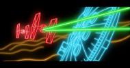 Star Wars: Episode VII - The Force Awakens teaser trailer. (in neon)