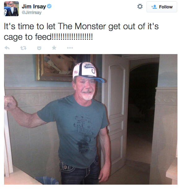 jim irsay Monster