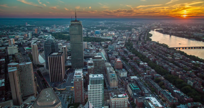pru sunset