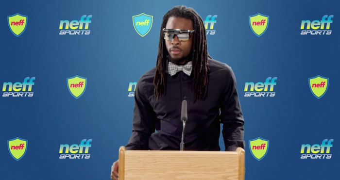 richard sherman glasses