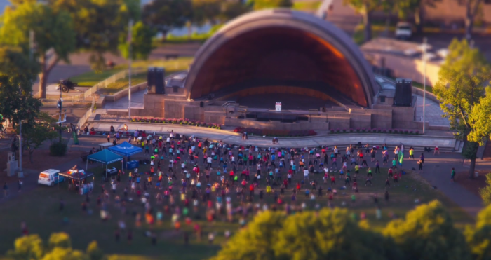 yoga at the hatch shell