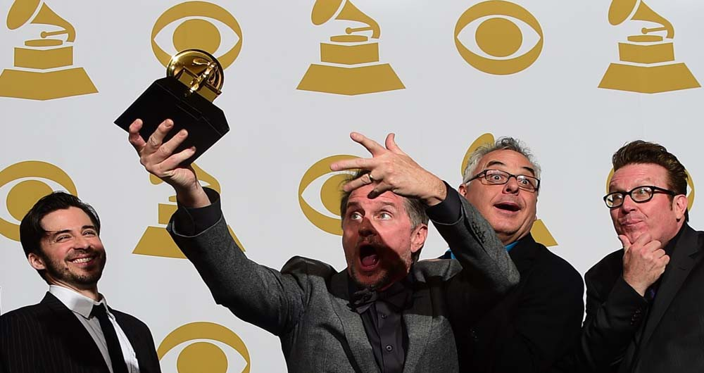 US-MUSIC-GRAMMY AWARDS-PRESSROOM