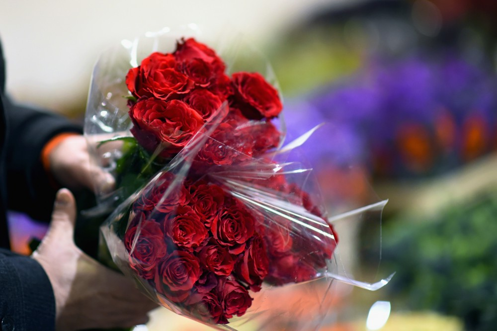 Flower Merchants Gear Up For A Busy Valentine's Day