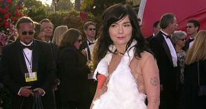 Actress and singer Bjork arrives the 73rd Annual A