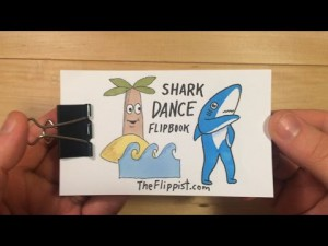 Super Bowl Shark Dance Flipbook