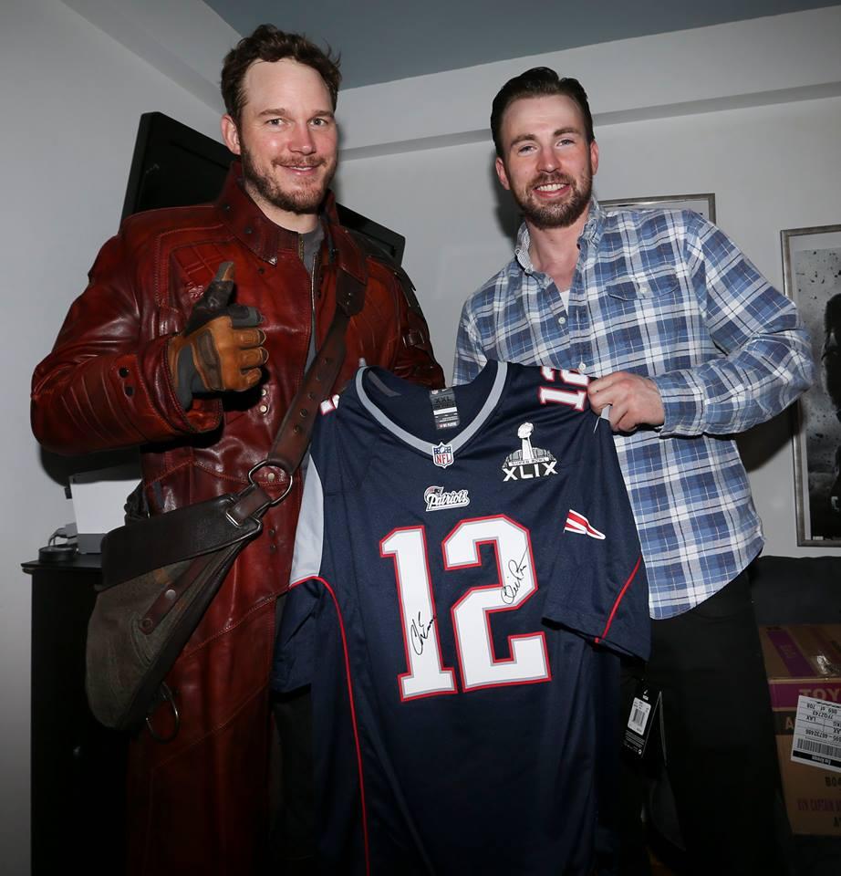 new arrival 4818b 61584 Chris Pratt Followed Through on His Super Bowl Bet | BDCWire