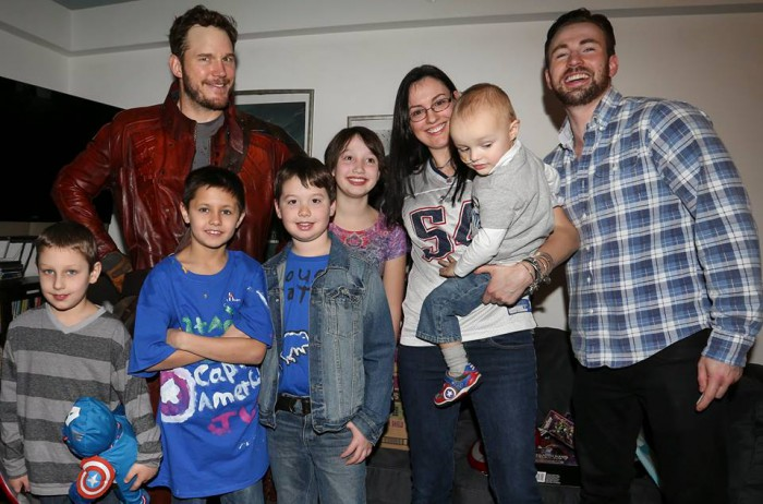 chris pratt group pic