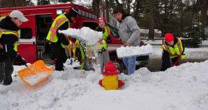 fire hydrant header
