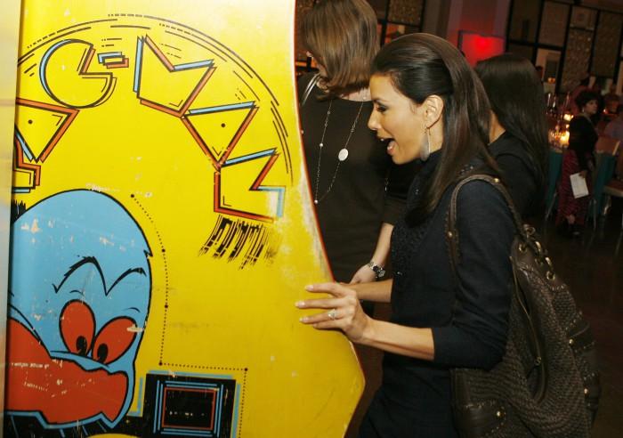 Pac-Man Eva Longoria