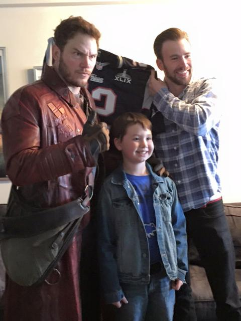 chris pratt followed through on his super bowl bet bdcwire