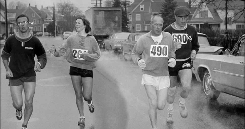 Kathrine Switzer open-minded men