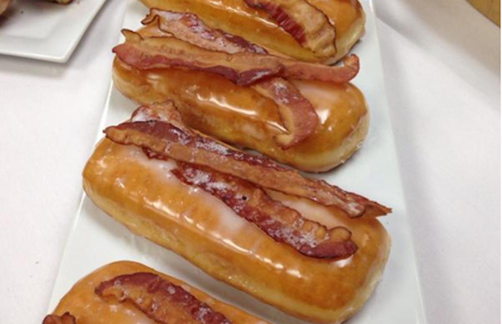 Bacon Doughnuts Recipe — Dishmaps