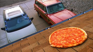 breaking bad pizza roof