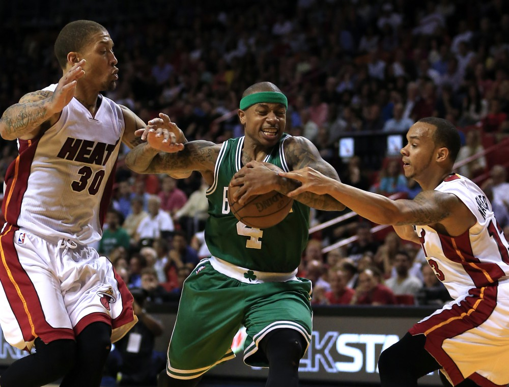 NBA: Boston Celtics at Miami Heat