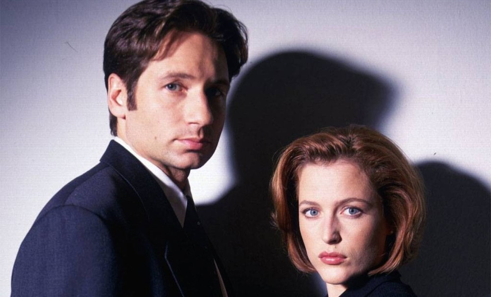the x files header