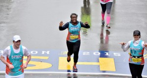 """Orange Is The New Black"" Star Uzo Aduba Ran 2015 Boston Marathon To Support Boston's Dana-Farber Cancer Institute Boston-area Native Joined Dana-Farber Marathon Challenge (DFMC) Team To Raise Funds For Cancer Research At Dana-Farber"