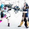 "Haley and Shalen - Jinx and Ashe – ""League Of Legends"" -  ""I really just love the diversity here and some really great cosplays here that you wouldn't be able to see anywhere else."""