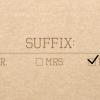 suffix (1)