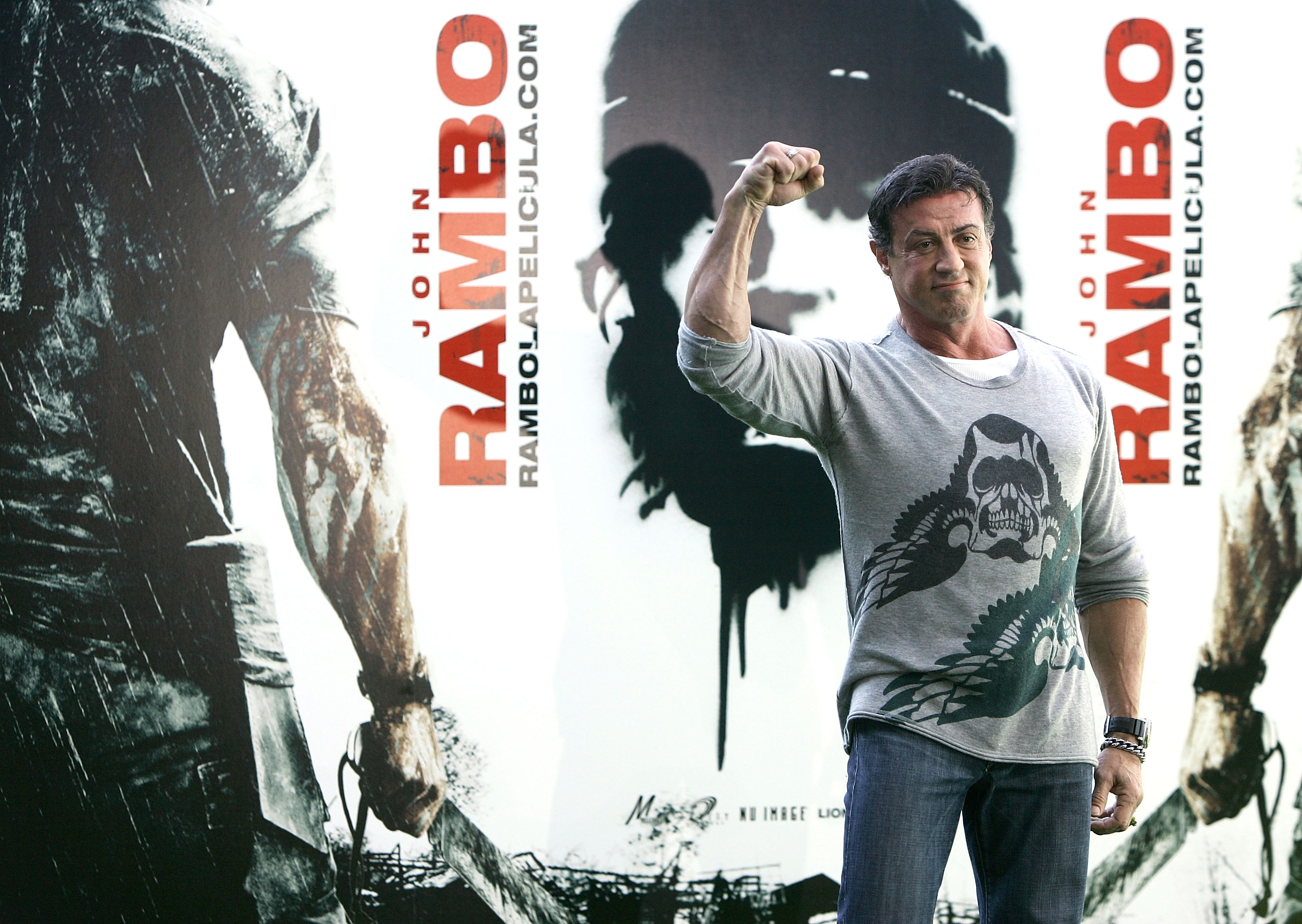 """John Rambo"" Press Conference and Photocall"