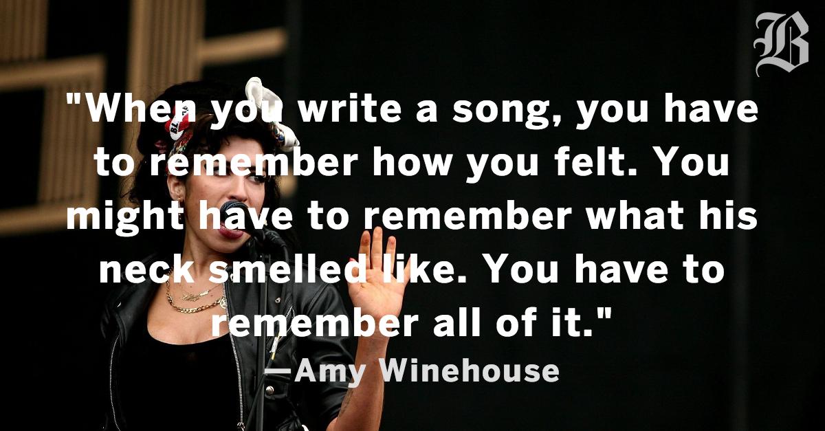 amywinehousequote