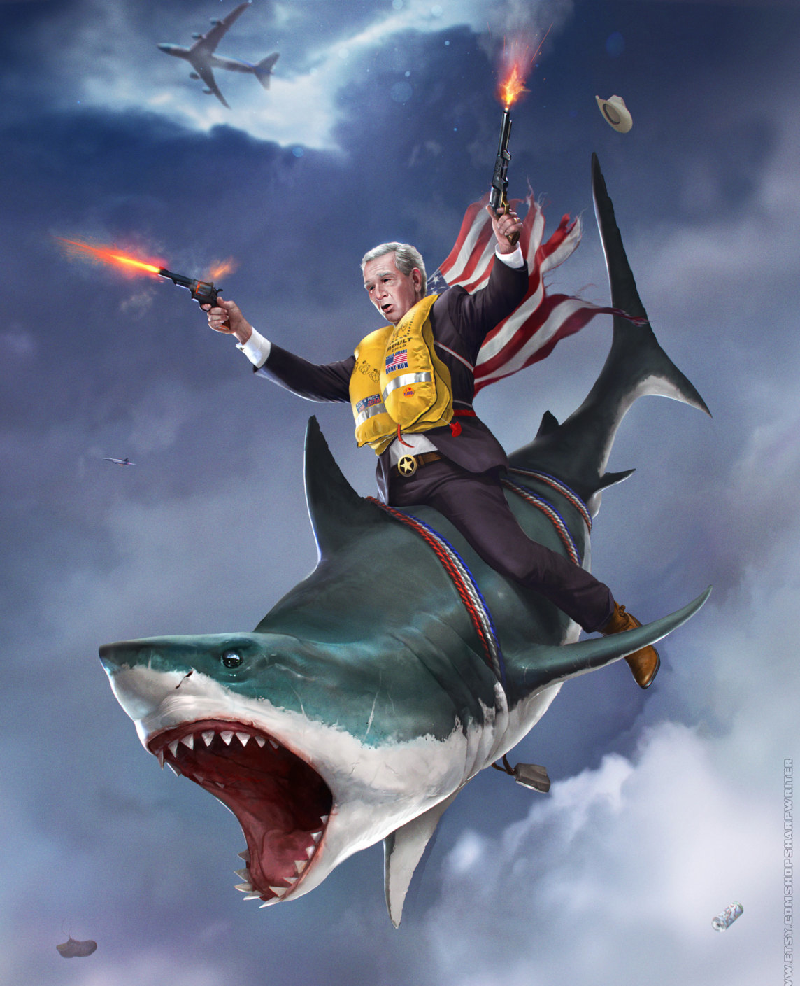 Badass Wallpapers: These Badass Presidential Portraits Are The Most American