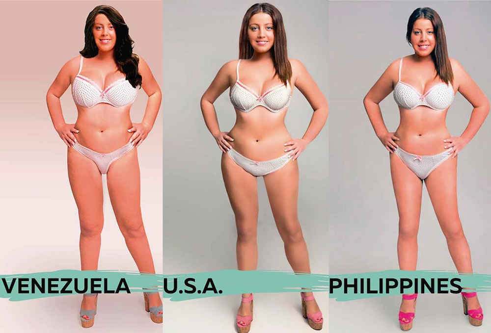 articles what perfect female body looks like when women