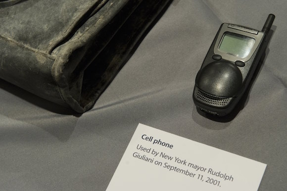 The cellphone used by former New York Ci