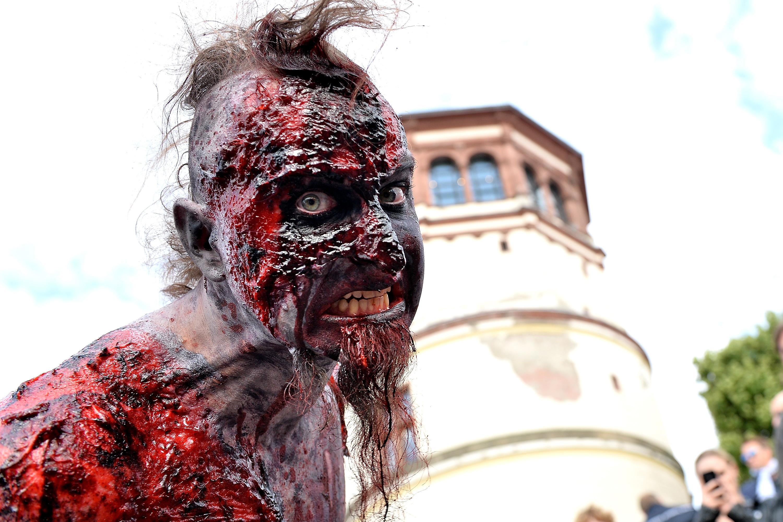 Zombie Walk In Duesseldorf