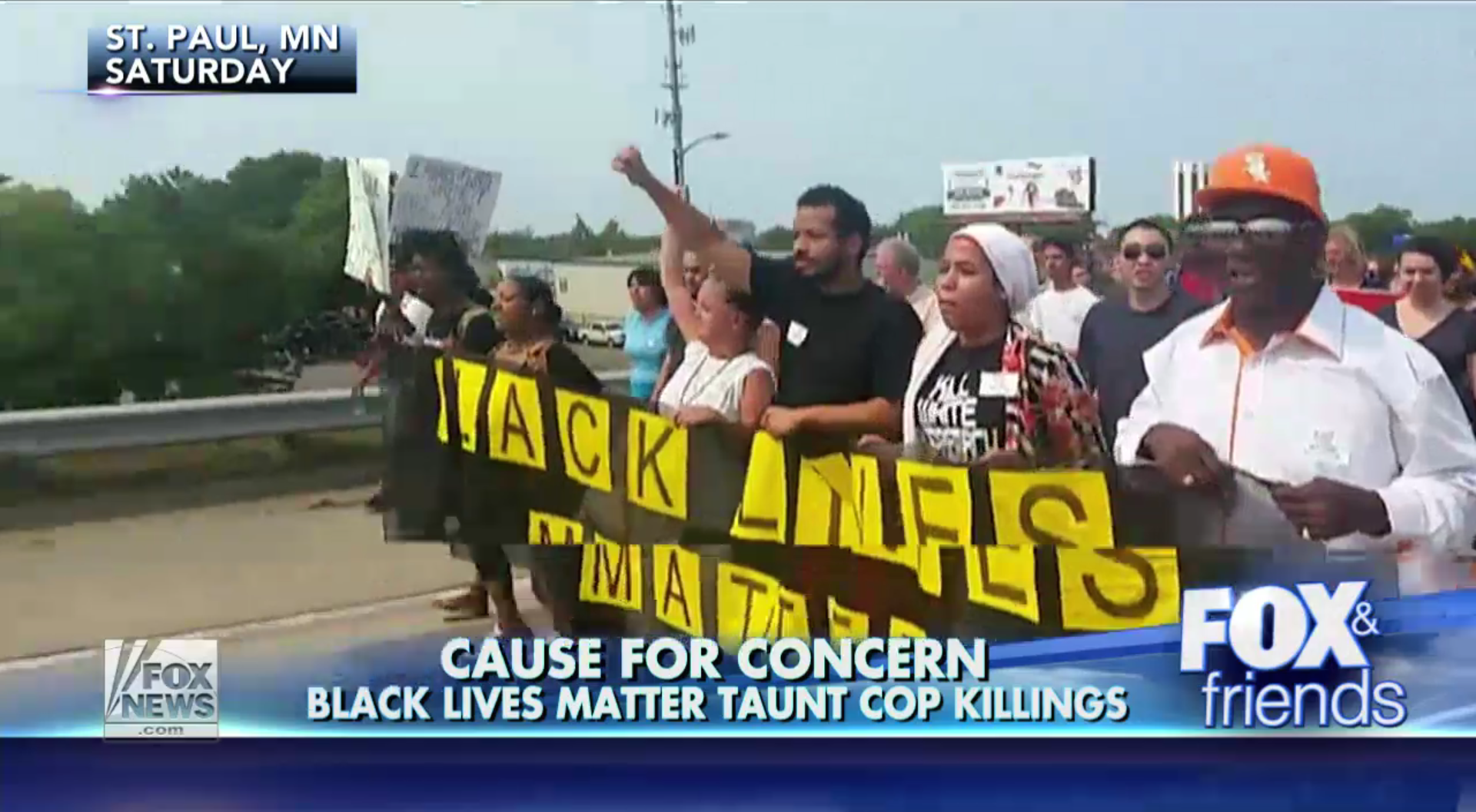 black lives matter fox and friends