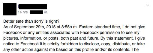 facebook hoax screenshot 2