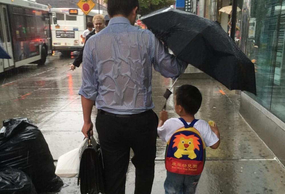 umbrella dad one more time