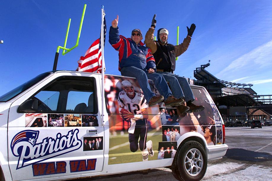 patriots super fans