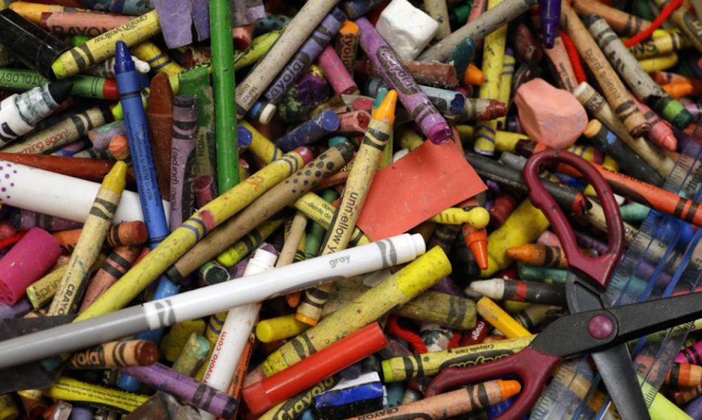A Local Barnes Noble Is Having Coloring Book Day For Adults