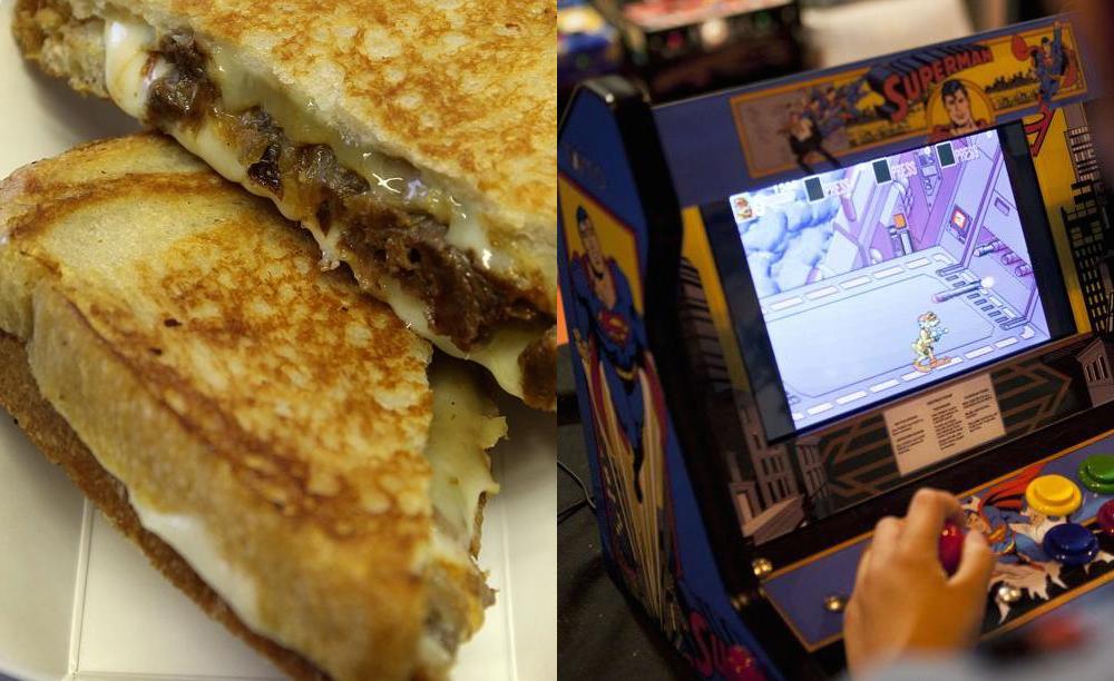 cheesy arcade
