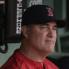 Boston Red Sox manager John Farrell in the dugout prior to a baseball game at Fenway Park in Boston, Tuesday, May 10, 2016.(AP Photo/Charles Krupa)